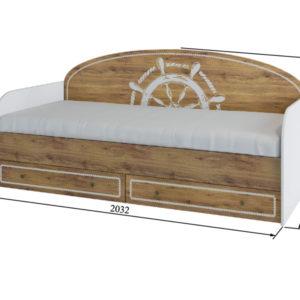 Юнга кровать ящики